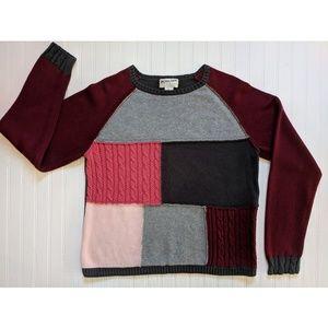 Pendleton cotton pullover sweater